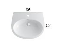 GR065 lavabo globo serie grace misure