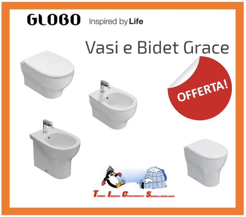 sanitari globo a roma - serie grace a roma - termoidraulica TICS colli aniene
